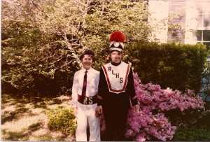 Memorial Day parade garb. Circa 1980.