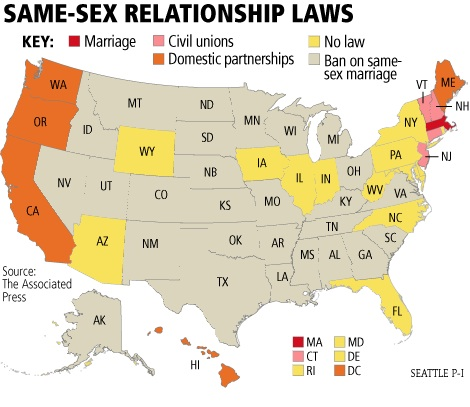 how many states allow same sex marriage in Lancashire