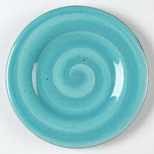 swirl plate  sc 1 st  Coffee Clutter and Chaos & My new addiction: Hausenware Swirl Dishes