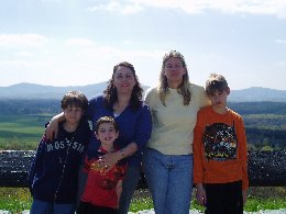 "Our first ""family"" photo, circa 2007.  Even then, Katarina refused to be in the photo...."