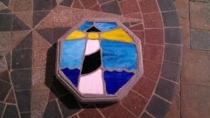 Beautiful stepping stone for my garden.