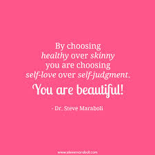 healthy over skinny