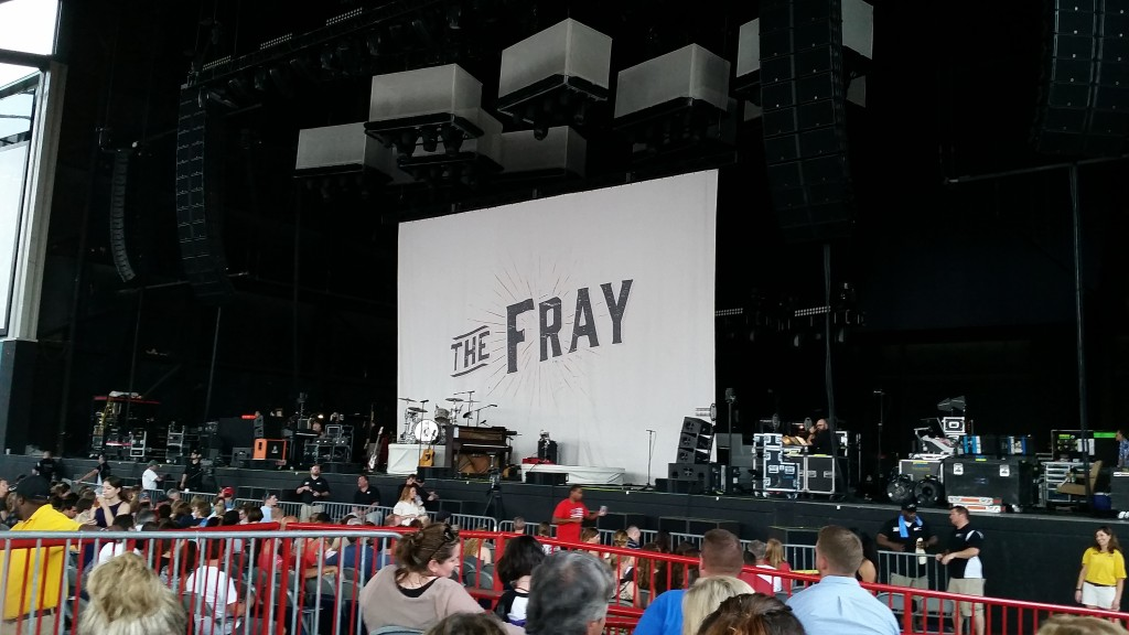 the fray concert