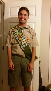 My new Eagle scout!